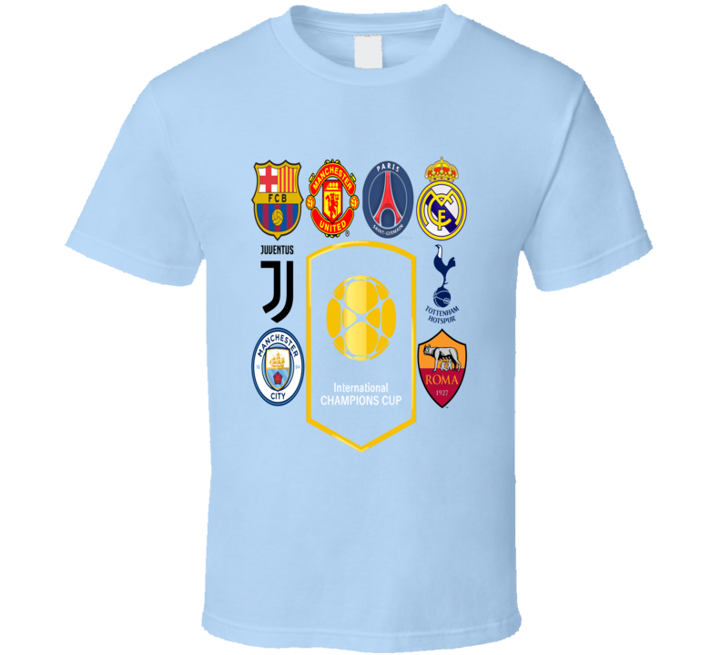 International Champions Cup Usa July 2017 1 T Shirt