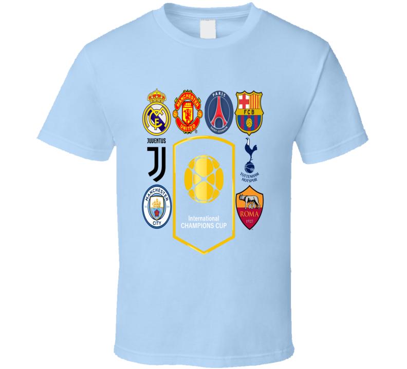 International Champions Cup Usa July 2017 2 T Shirt