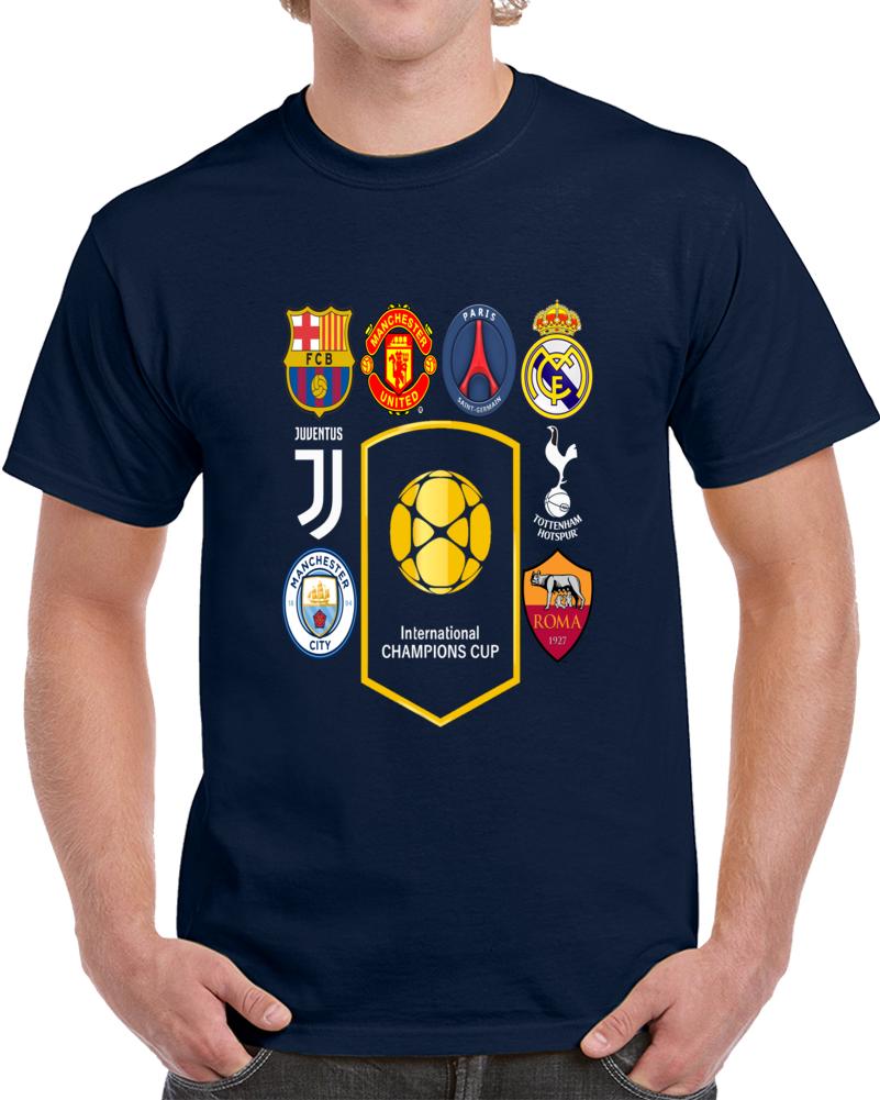 International Champions Cup Usa July 2017 3 T Shirt