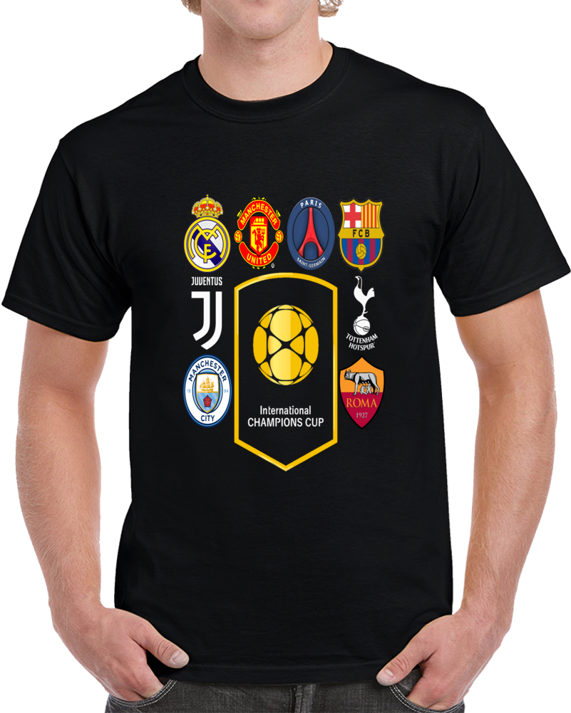 International Champions Cup Usa July 2017 4 T Shirt
