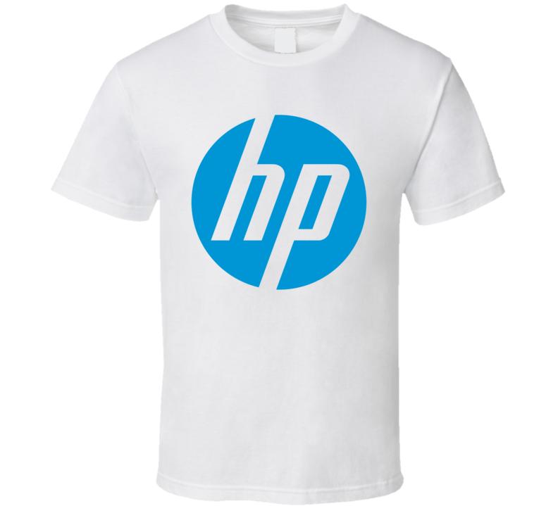 Hp Hewlett Packard Intel Logo T Shirt