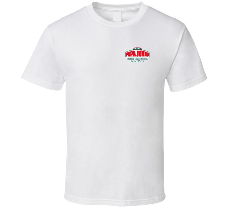 Papa Johns Logo Chest T Shirt
