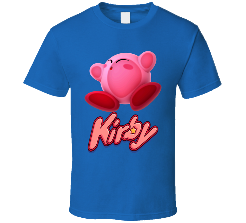 Kirby Character T Shirt