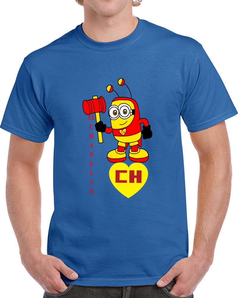 El Chapulin Colorado Minion Cartoon T Shirt