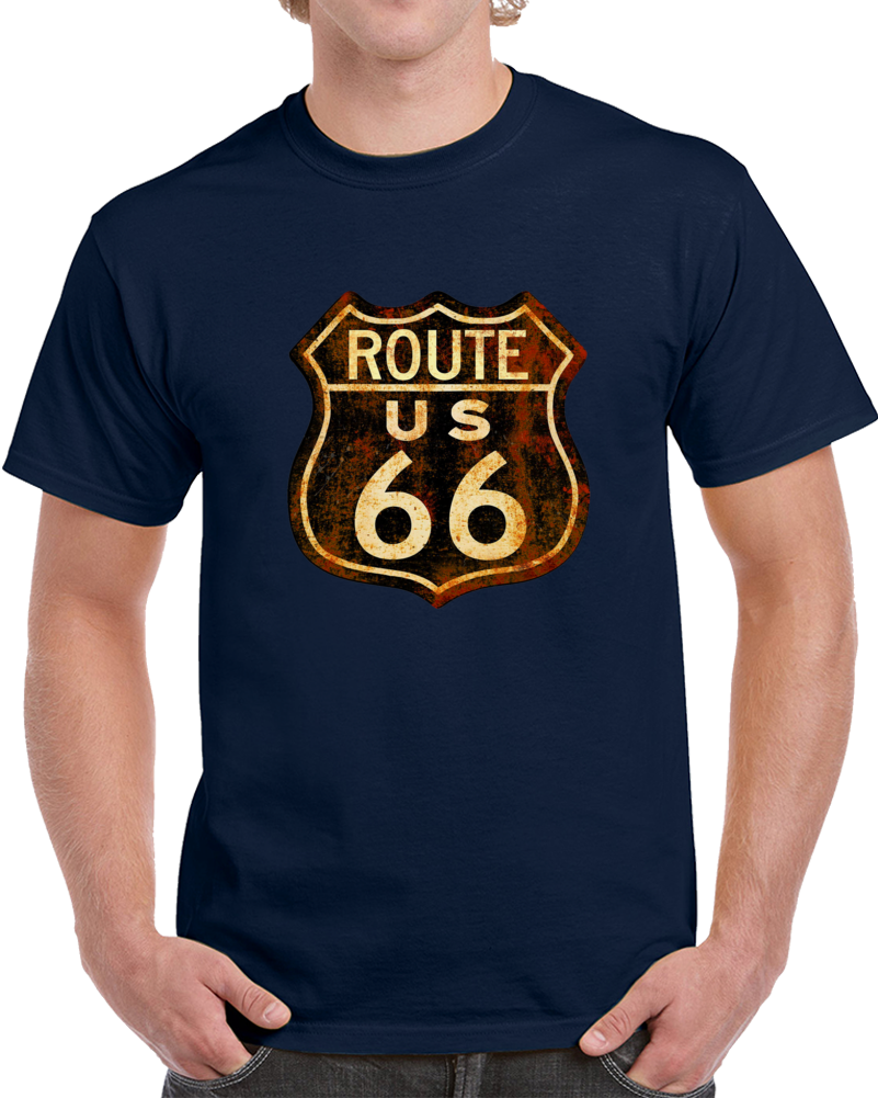 Route Us 66 Sign T Shirt