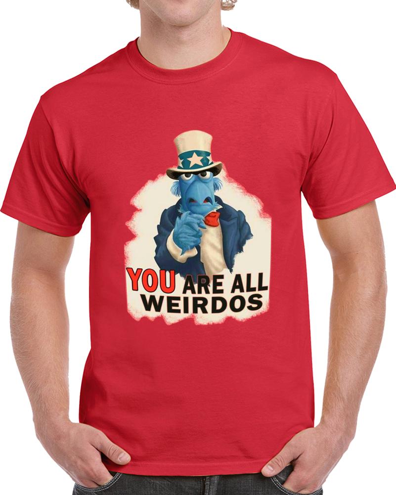 Sam Eagle You Are All Weirdos T Shirt