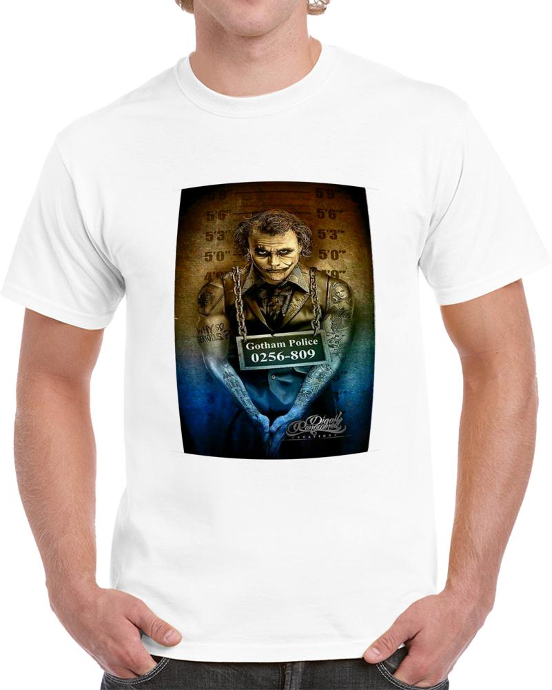 Gotham Police Joker Poster T Shirt