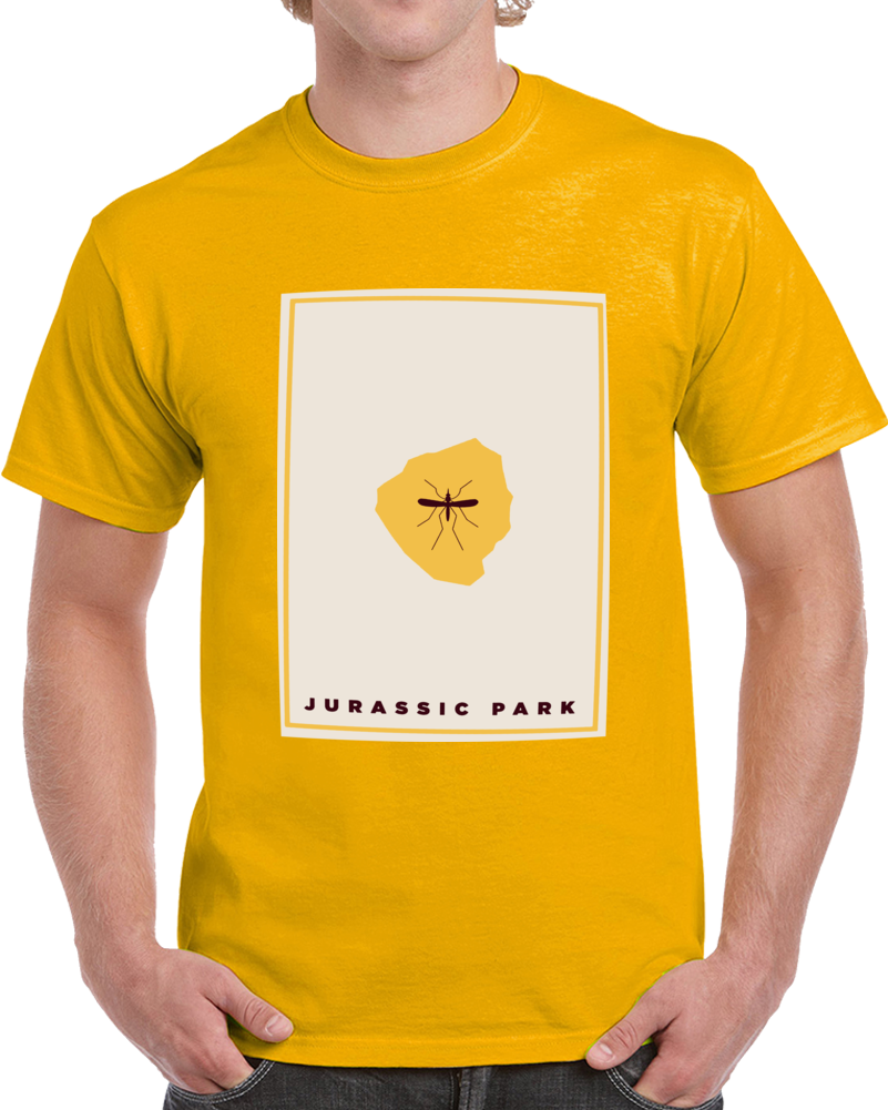 Jurassic Park Yellow Poster T Shirt