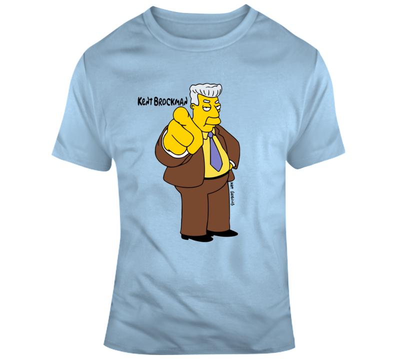 Kent Brockman Simpsons T Shirt
