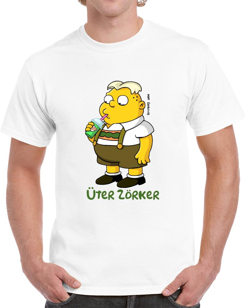 Uter Zorker Simpsons T Shirt