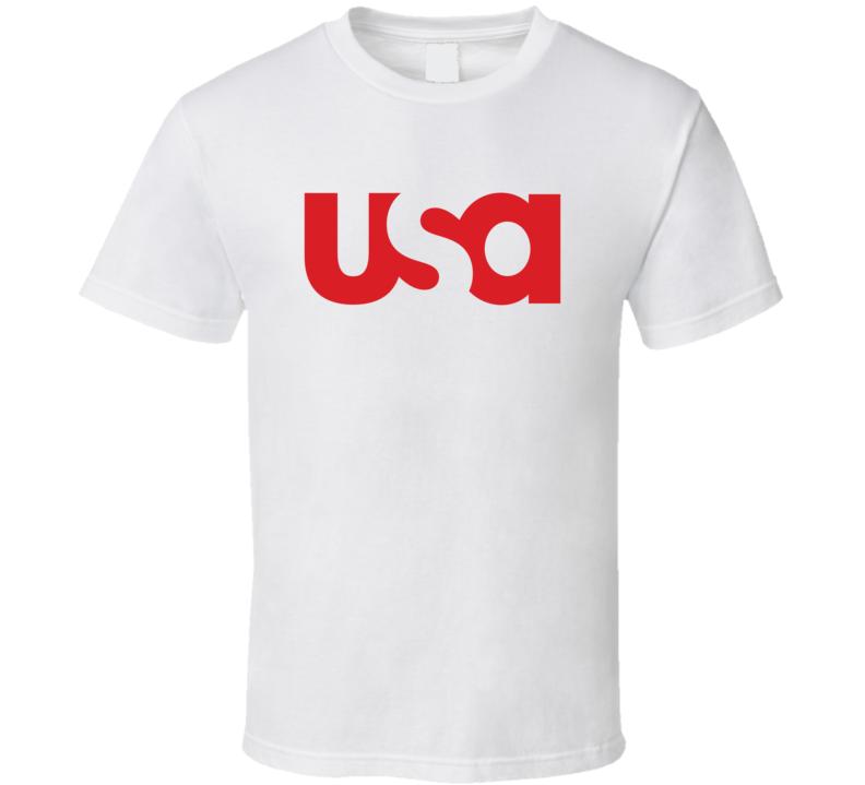 Usa Network Logo Mix T Shirt