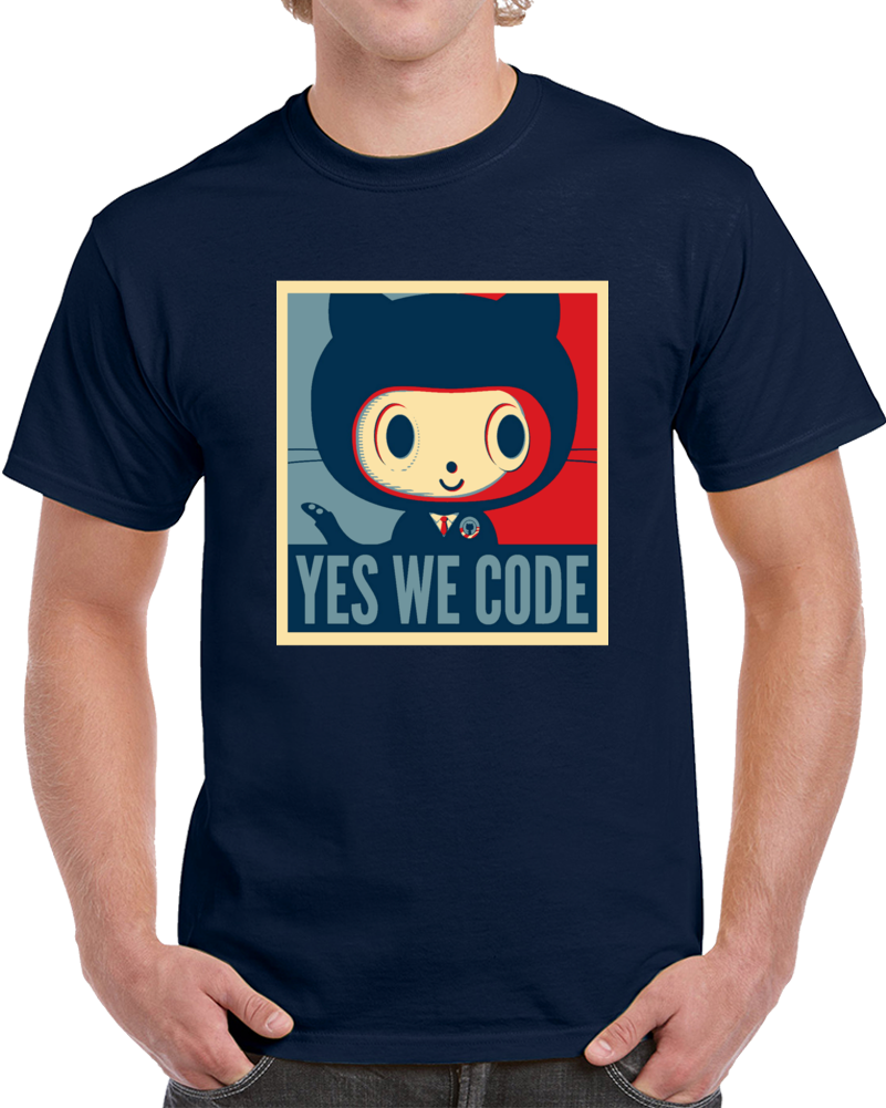 Yes We Code Githug Poster T Shirt