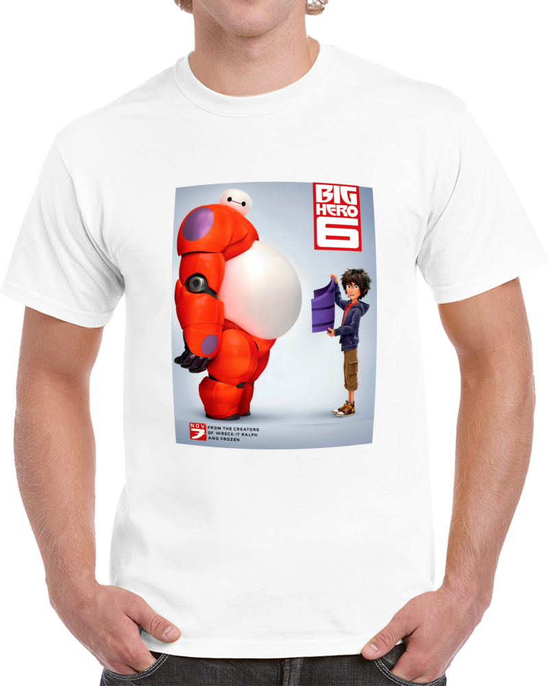 Big Hero 8 Poster Mix T Shirt