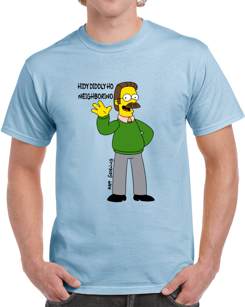 Ned Flanders Hidy Neighborino T Shirt