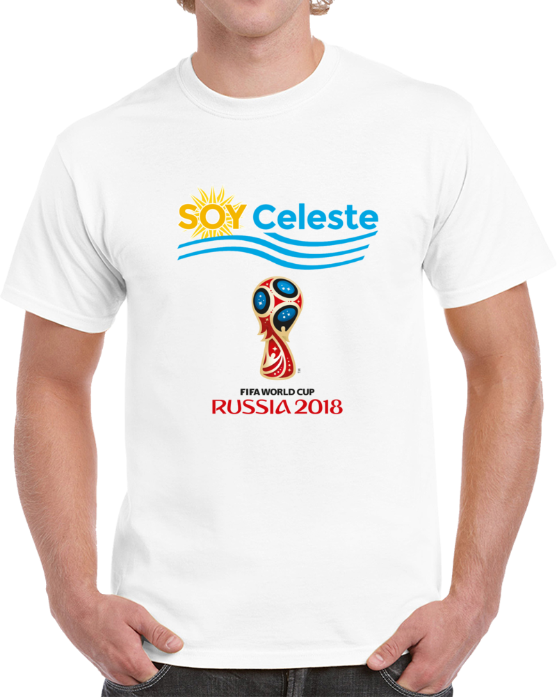 Soy Celeste World Cup 2018 T Shirt