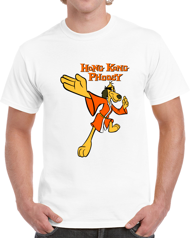 Hong Kong Phooey Karate Mix T Shirt