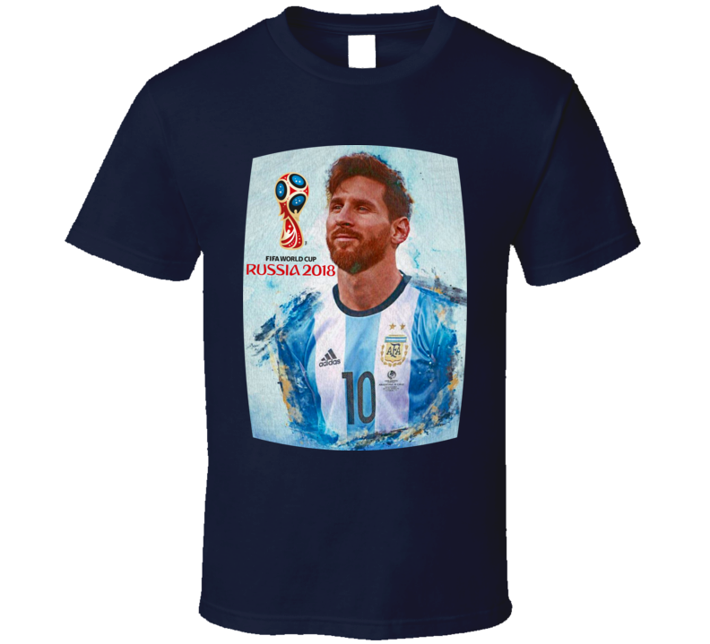 Messi World Cup 2018 Mix T Shirt