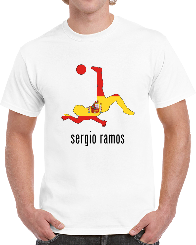 Sergio Ramos Spain Mix T Shirt