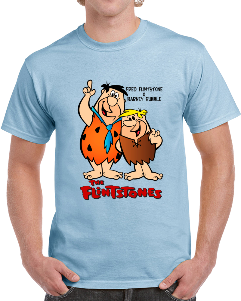 Fred Flintstone & Barney Rubble Mix T Shirt