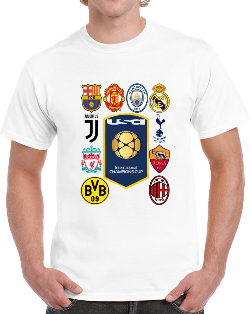 International Champions Cup Usa 2018 T Shirt