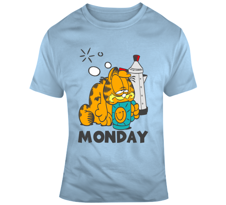 Garfield Monday Mix T Shirt