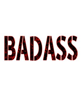Lac Because Badass Official Last Name Funny T Shirt