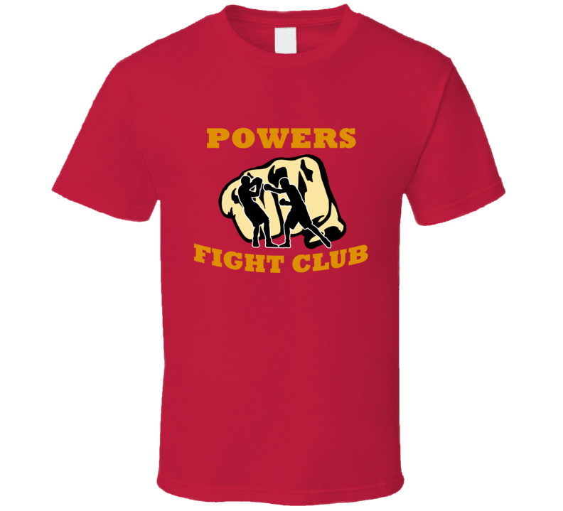 Custom Fight Club Powers Funny Family Reunion Last Name Surname T shirt