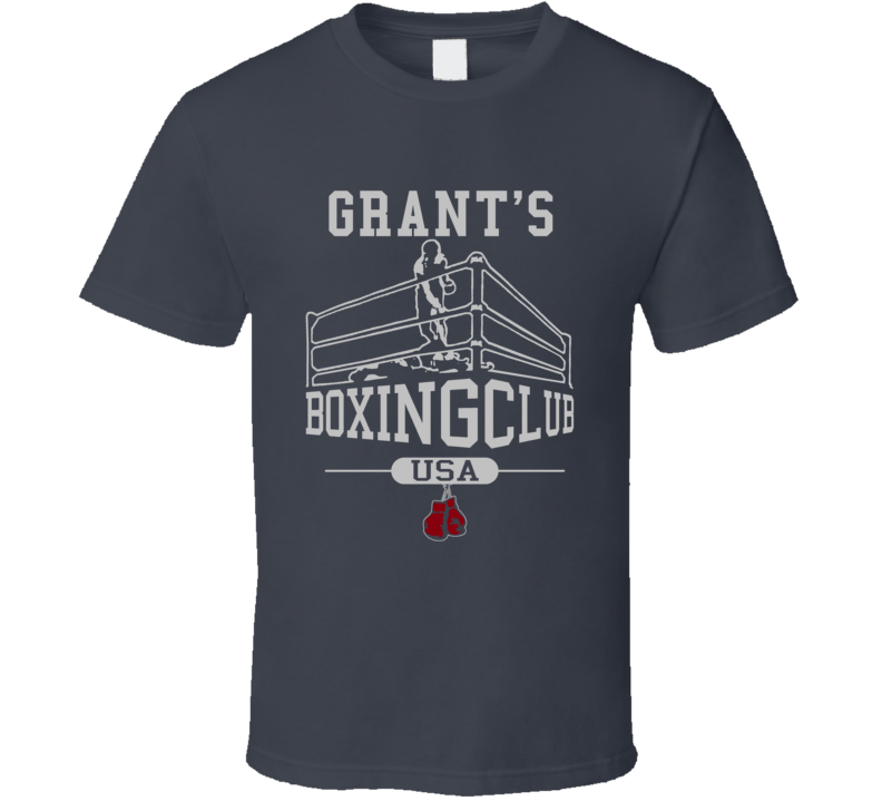 Grant Boxing Club Fighting Excerise T Shirt