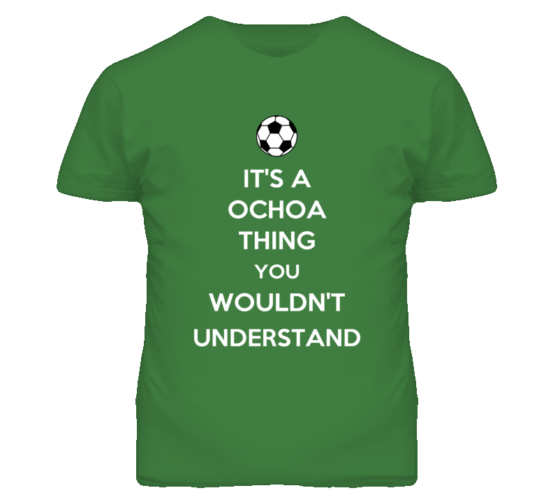 Guillermo Ochoa Mexico Gk Keep Calm FUNNY PARODY Football Soccer World Cup T Shirt