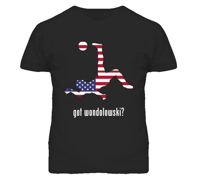 Chris Wondolowski Usa Fw Black Football Soccer World Cup T Shirt