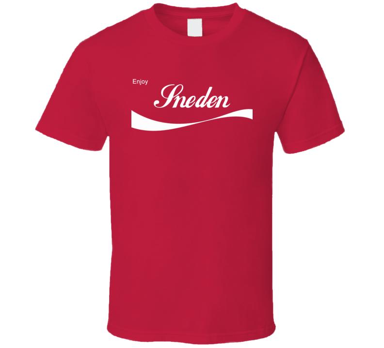 Sneden Enjoy Cola Parody Custom Name T Shirt
