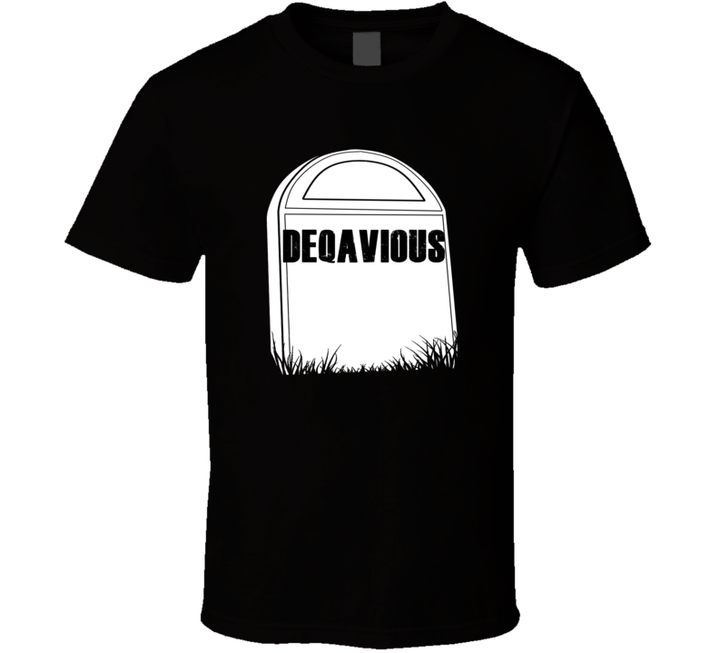 Creepy Deqavious Tombstone Name T Shirt