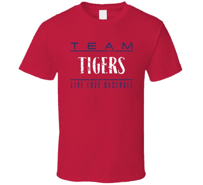 Team Tigers T Shirt