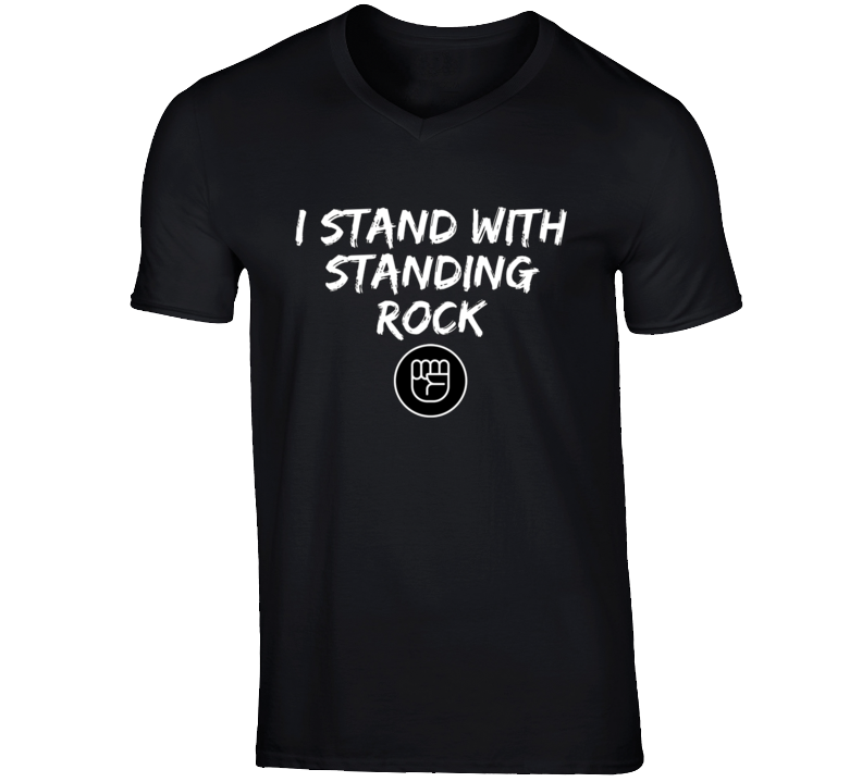Standing rock T Shirt Black