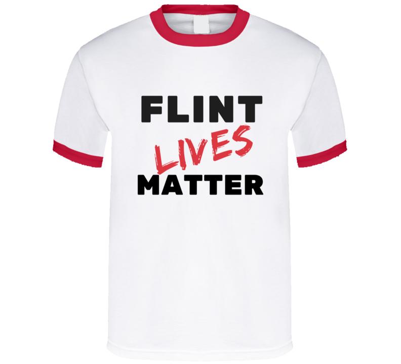 Flint lives matter. T Shirt