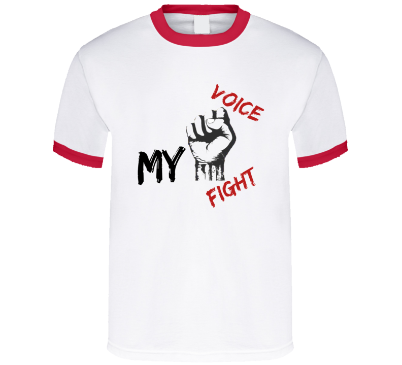 My voice my fight T Shirt