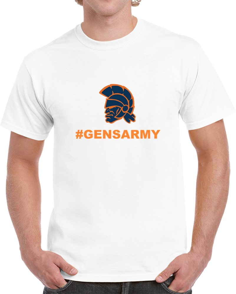 #gensarmy White T Shirt