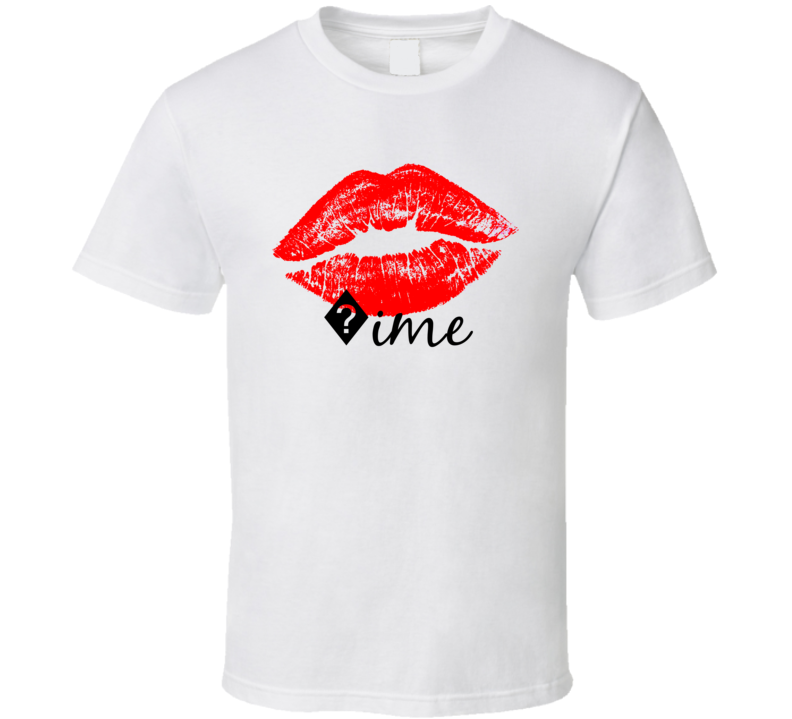 ?ime Personalized Name Lips Kiss Love Essential T Shirt