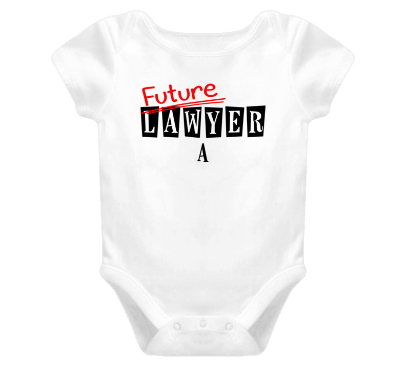 Future Lawyer A Occupation Name Baby One Piece