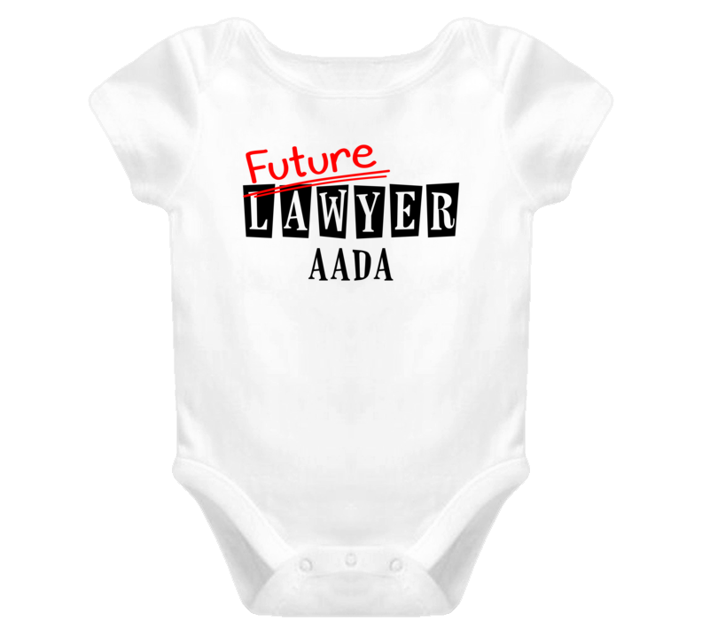 Future Lawyer Aada Occupation Name Baby One Piece