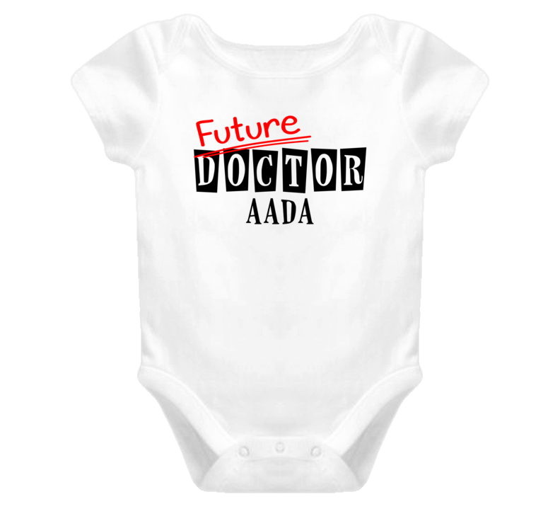 Future Doctor Aada Occupation Name Baby One Piece