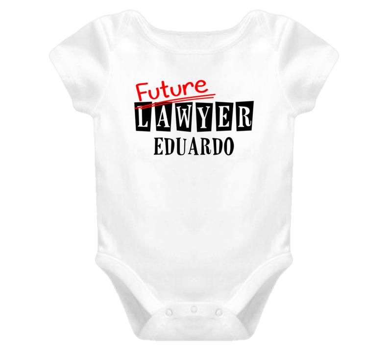 Future Lawyer Eduardo Occupation Name Baby One Piece