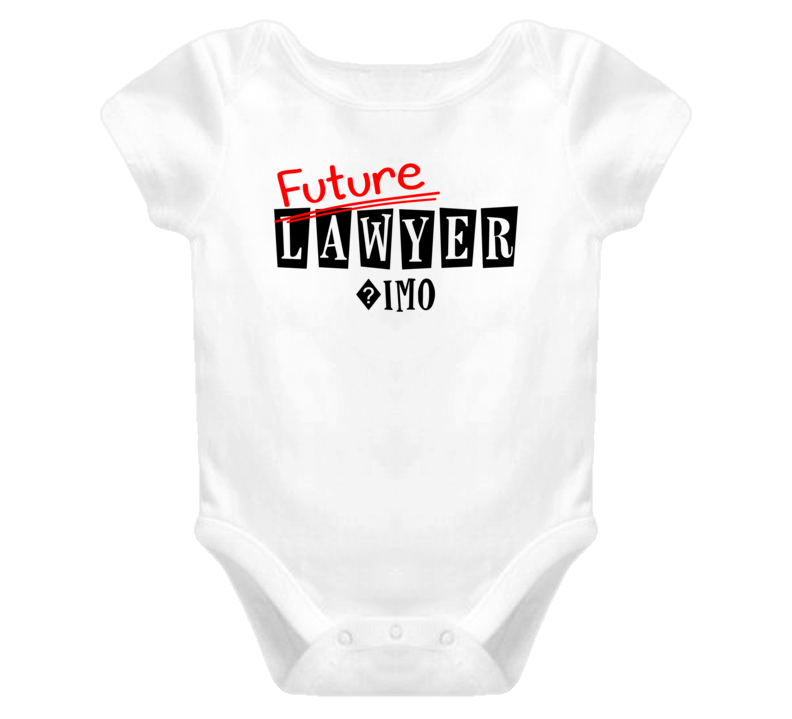 Future Lawyer ?imo Occupation Name Baby One Piece