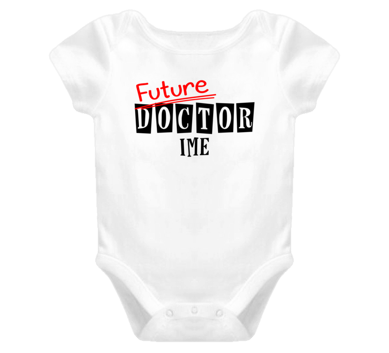 Future Doctor Ime Occupation Name Baby One Piece