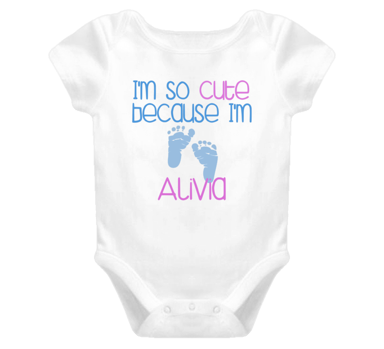 Im So Cute Alivia Name T Shirt
