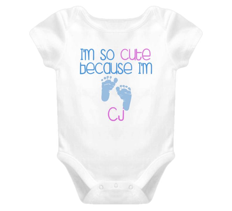 Im So Cute Cj Name T Shirt