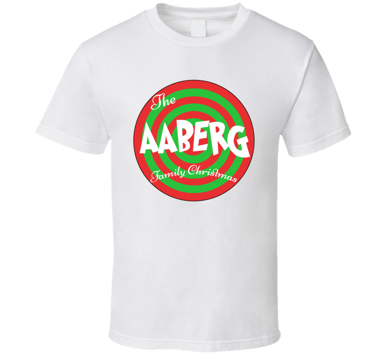 The Aaberg Family Christmas Last Name T Shirt
