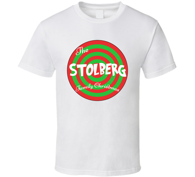 The Stolberg Family Christmas Last Name T Shirt