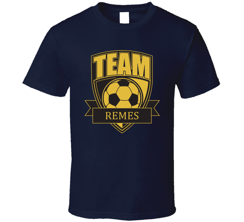 Team Remes Last Name Soccer T Shirt