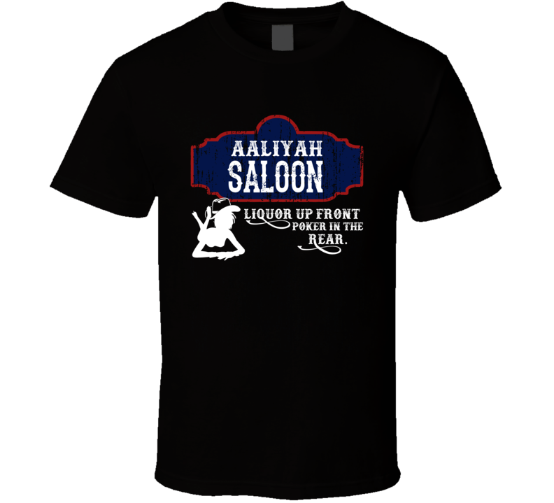 Aaliyah Saloon First Name T Shirt